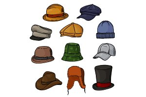Man hat vector fashion clothing