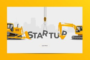 Startup Creation Vector Illustration