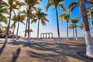 Famous Puerto Vallarta Arches