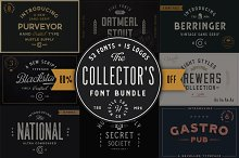 Collector's Font Bundle - 53 Fonts!