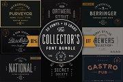 Collector's Font Bundle – 53 Fonts!