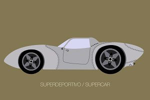european retro classical supercar