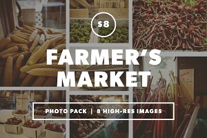 Farmer's Market Photo Pack