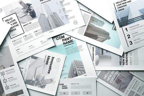 Flyer Templates: Marie T - Corporate Business Flyers Bundle