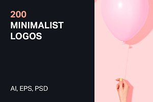 200 Minimalist Logos