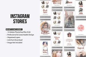 Instagram Stories - Autumn Collect