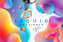 Liquid Gradients Collection by  in Textures