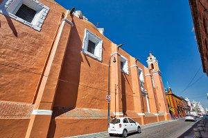 Mexico, Puebla streets