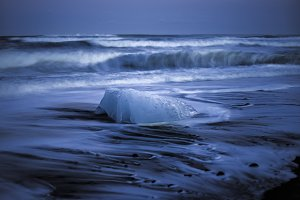 Stranded Ice on the Beach #05