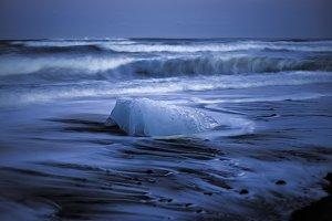 Stranded Ice on the Beach #05