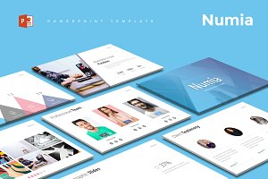 Numia - Powerpoint Template