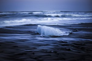 Stranded Ice on the Beach #03