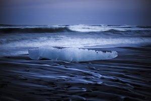 Stranded Ice on the Beach #01