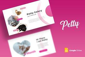 Petty - Google Slides Template