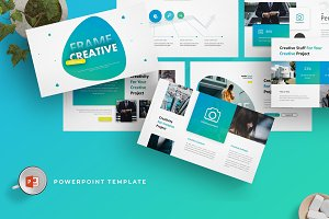 Frame Creative - Powerpoint Template