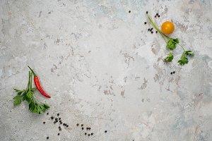 Food background Ingredients