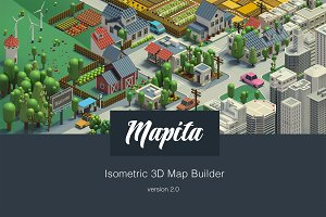 Ultimate 3D Map Creator - Mapita