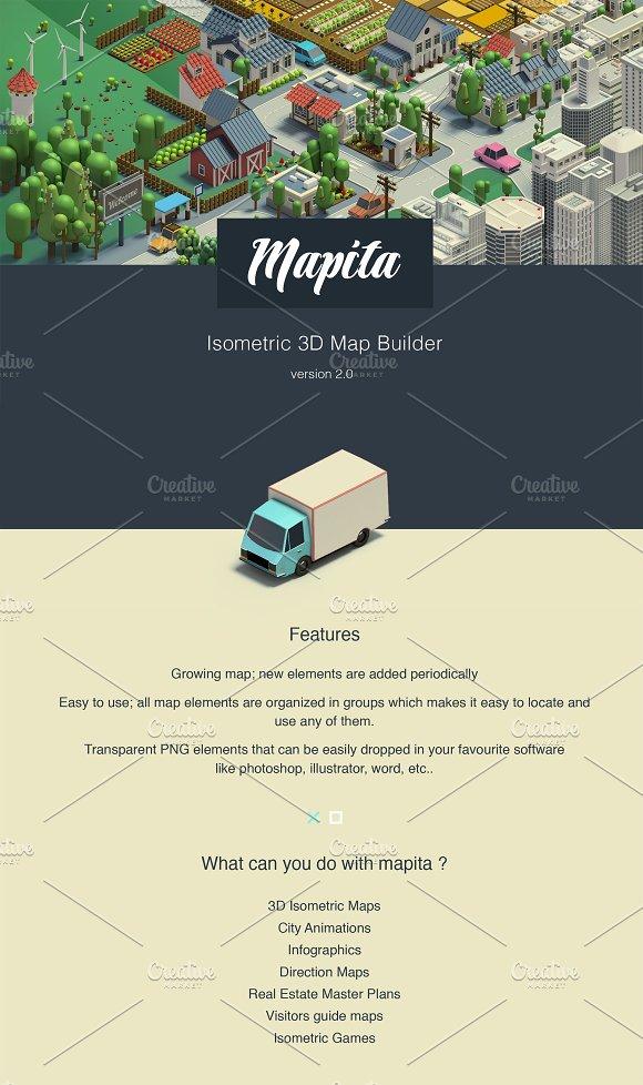 Ultimate 3D Map Creator - Mapita