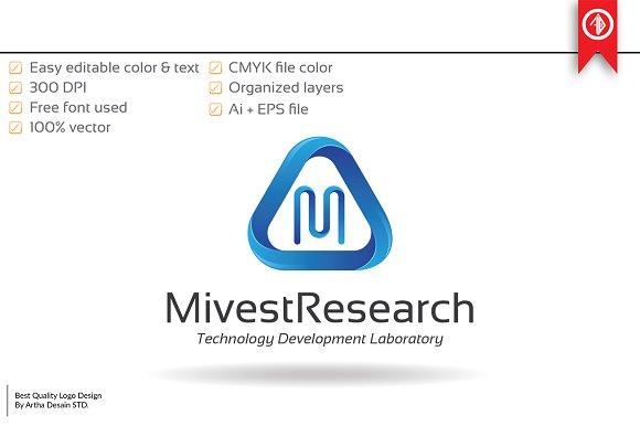 Creative Letter M Logo Template