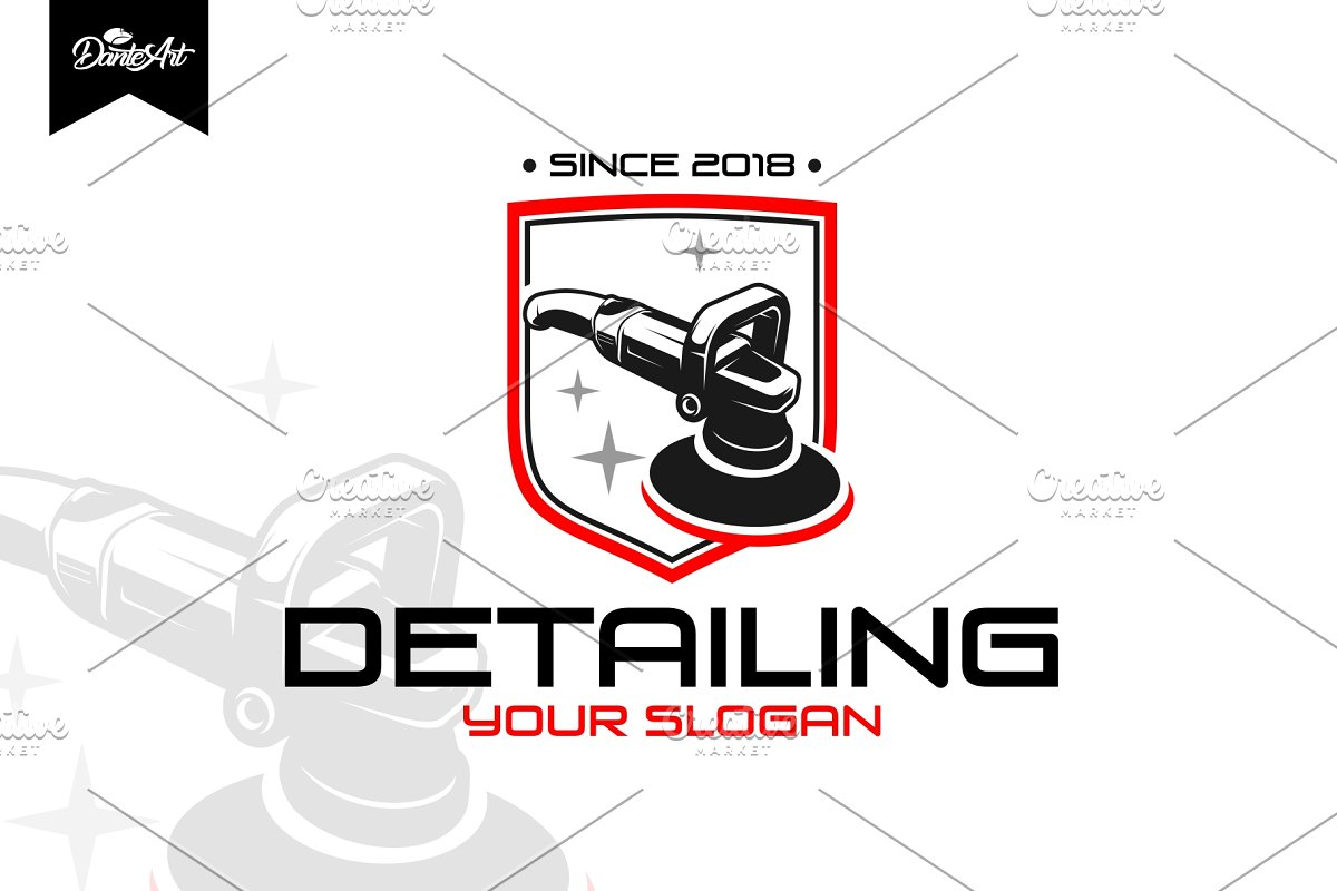 Detailing Car Logo