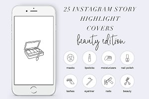 25 Instagram Stories Highlight Icons