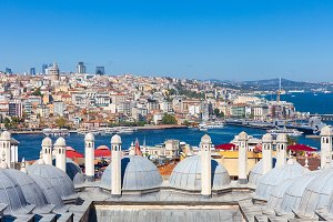 The view over Bosphorus strait, Ista