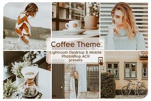 Coffee Theme Lightroom Presets