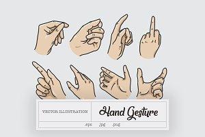8 Hand Gesture