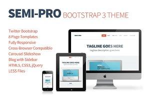 Semi-Pro Bootstrap 3 Portfolio Theme