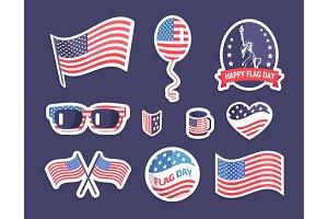Happy Flag Day American Symbolism