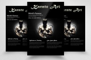 Karate Martial Arts Flyer Template