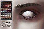 Horror Eyes & Skin Swatches