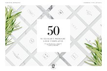 50 Elegant Premade Logo Templates by  in Logos