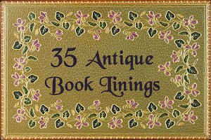 Antique Book Linings