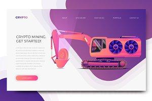 GPU Mining Digger.