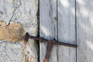 Door with lockpad