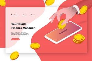 Digital Finance Mgr-Banner & Landing