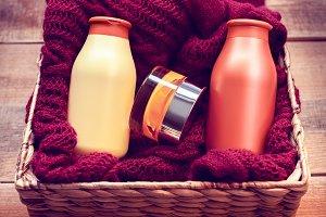 mock-ups of bottles