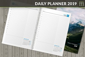 Daily Planner 2019 (DP041-19)