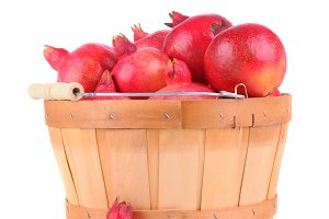 Basket Full of Pomegranates