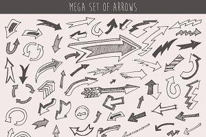 Mega set of arrows