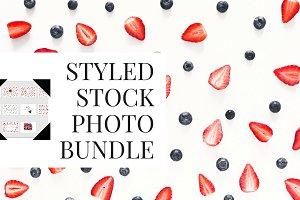 10 fruits styled stock photo bundle