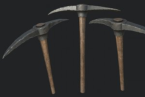 Old Pickaxe PBR