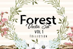 Forest Vector Set Vol 1