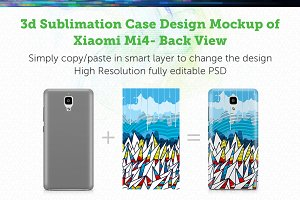 Xiaomi Mi4 3d Sublimation Mockup