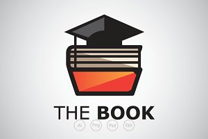 Smart Book Library Logo Template