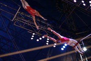Circus Trapeze Photograph