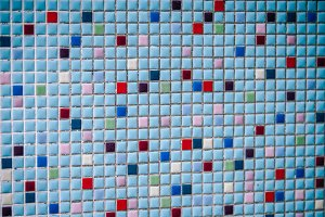 Colored Square Tiles