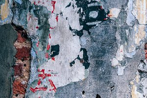 Colorful Grungy Texture in Penang