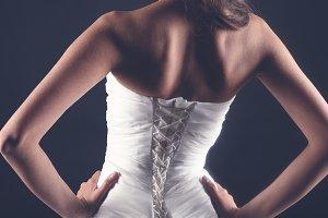 White corset
